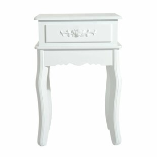 Gunnar End Table with Storage by Charlton Home