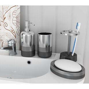 Quirion 4 Piece Bathroom Accessory Set