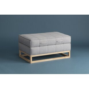 Denim Storage Ottoman by Ebb a..