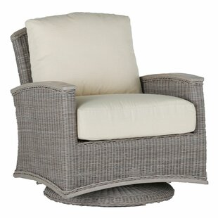 Summer Classics Astoria Swivel Glider Chair with Cushions