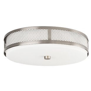 Latitude Run Patton 1-Light LED Flush Mount