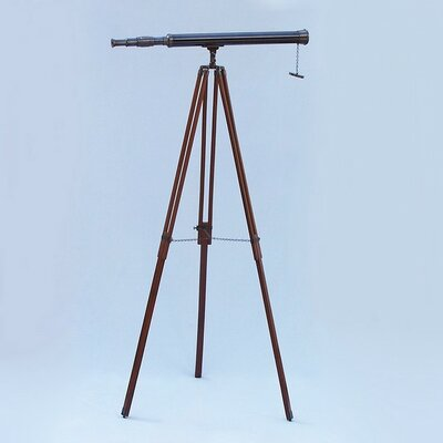 Breakwater Bay Espanola Refractor Telescope Breakwater Bay Finish Oil Rubbed Bronze Black Leather From Wayfair North America Sound Vision