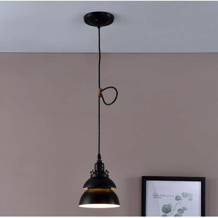 Walston Barn Metal 1-Light Bell Pendant by George Oliver