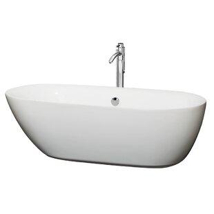 Melissa 71 x 33 Soaking Bathtub by Wyndham Collection