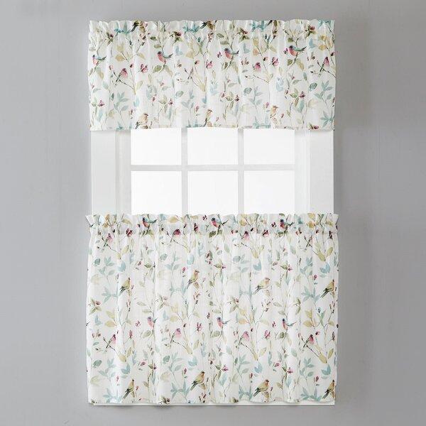 Kitchen Curtains With Birds Wayfair