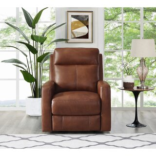 Amasia Leather Power Wall Hugger Recliner by Winston Porter SKU:ED465758 Buy