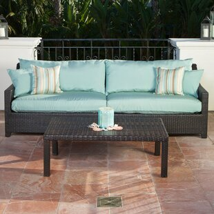 Northridge 2 Piece Sofa Set with Cushions