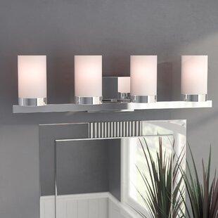 Compare prices Wyman 4-Light Vanity Light By Mercury Row