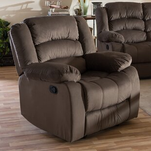 Baxton Studio Manual Recliner