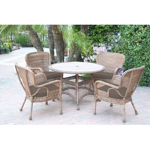 Carol 9 Piece Dining Set With Cushions By Bay Isle Home