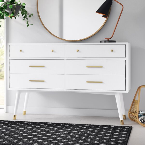 Modern Contemporary White Modern Dresser Allmodern