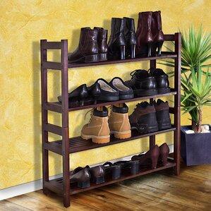 veranda 4tier 20 pair shoe rack