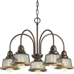 Compare Murillo 5-Light Shaded Chandelier By Beachcrest Home