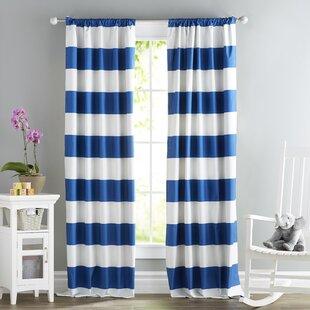 Striped Curtains & Drapes You\'ll Love | Wayfair