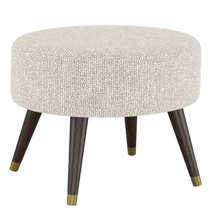 George Oliver Beckles Oval Ottoman