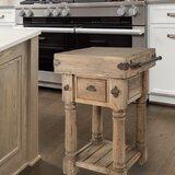 Karta Island Kitchen Cart by August Grove®