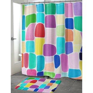 Yara Color Galore Single Shower Curtain