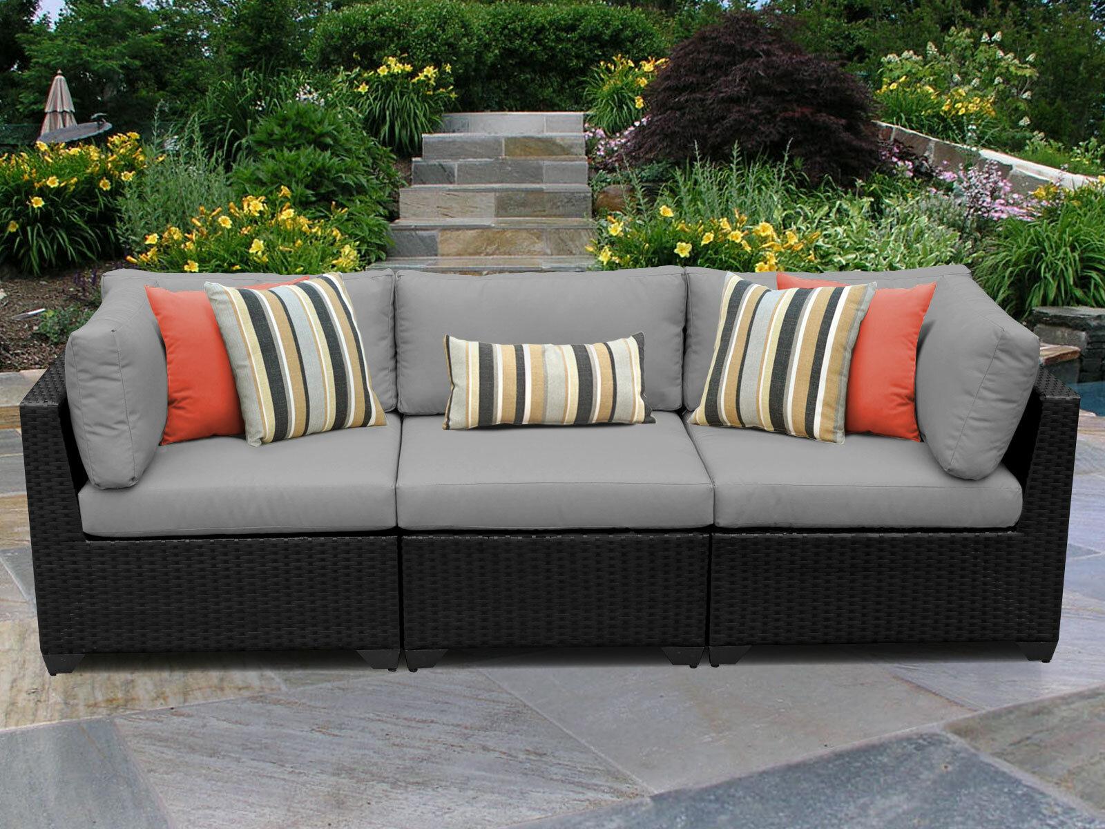 Medley Patio Sofa With Cushions