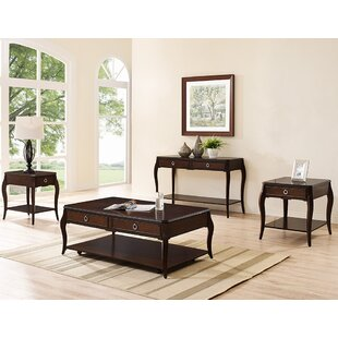 Pack 4 Piece Coffee Table Set