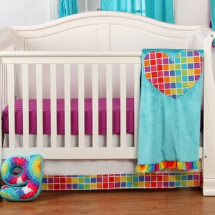 Best Price Terrific Tie Dye Infant 3 Piece Crib Bedding Set By One Grace Place