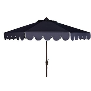 Three Posts Olivares 8' Drape Umbrella