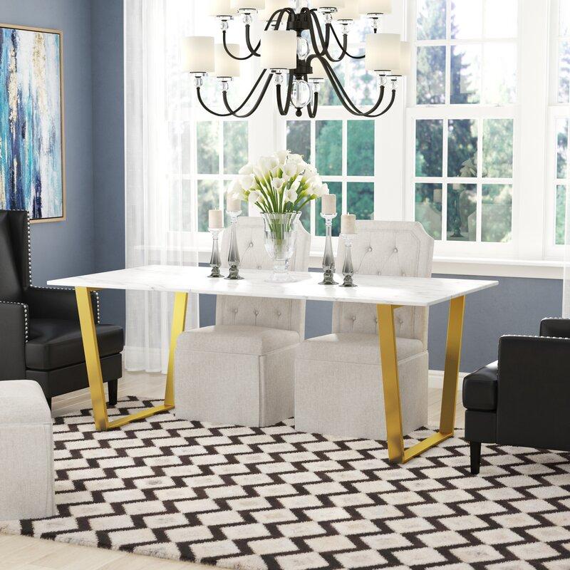 Allmodern Maria Dining Table Reviews Wayfair Ca