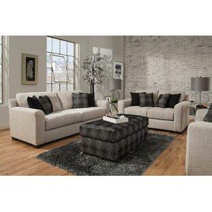 Brayden Studio Davy 3 Piece Living Room Set