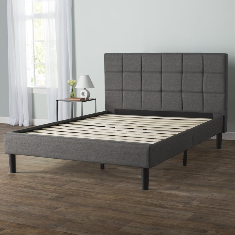 Harry Upholstered Platform Bed Reviews Allmodern