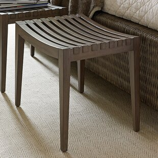 Tommy Bahama Home Cypress Point Wood Bench