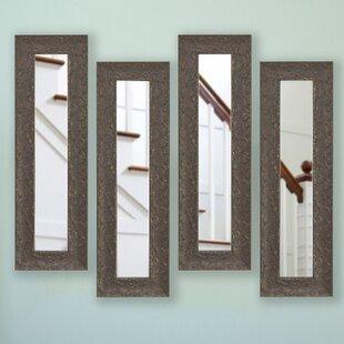 Astoria Grand Panel Accent Mirror (Set of 4)