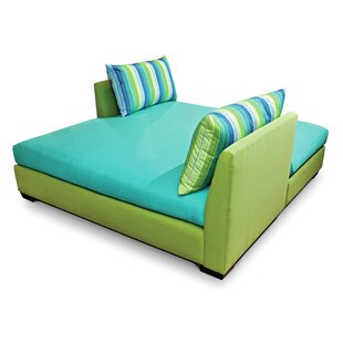 Seasonal Living Fizz Double Chaise Lounge with Cushion