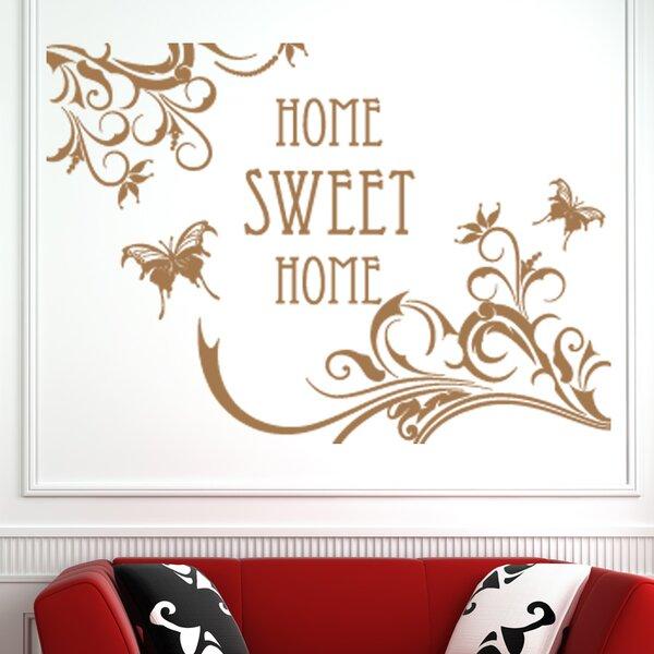 home sweet home wall decal | wayfair.ca