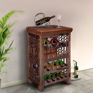Ascutney Rustic 20 Bottle Floor Wine Rack..