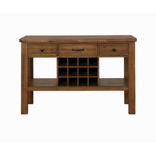 Bolick 3 Drawer Buffet Table by Foundry Select