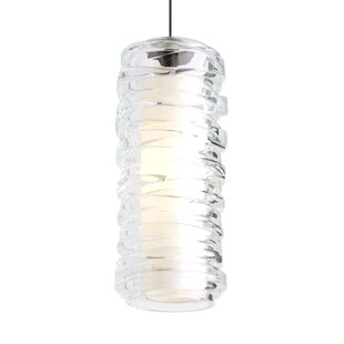 Davison 1-Light Cylinder Pendant by Orren Ellis
