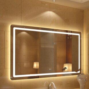 Searching for Bodine Back Lit Daylight Bathroom Mirror ByOrren Ellis