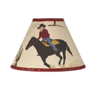 Wild West Cowboy 10 Cotton Empire Lamp Shade