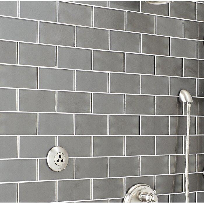 3 X 6 Tile In Metallic Gray