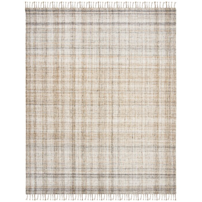 Jahi Plaid Handwoven Flatweave Wool Yellow/Beige Area Rug on waterford area rugs, chanel area rugs, kate spade area rugs, horchow area rugs, jonathan adler area rugs, suzanne kasler area rugs, nina campbell area rugs, z gallerie area rugs, lexington area rugs, victoria hagan area rugs, barbara barry area rugs,