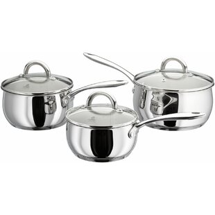 Classic 3 Piece Cookware Set by Judge