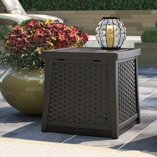 Cube 13 Gallon Resin Deck Box by Suncast