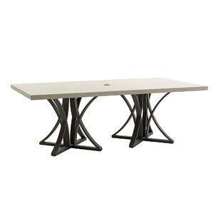 Cypress Point Ocean Terrace Stone/Concrete Dining Table by Tommy Bahama Outdoor