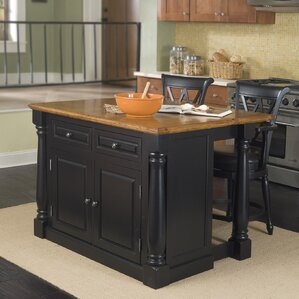 Gironde Wood Kitchen Island by Laurel Foundry Modern Farmhouse Reviews