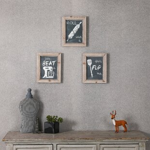 3 Piece Kitchen Wall Décor Set