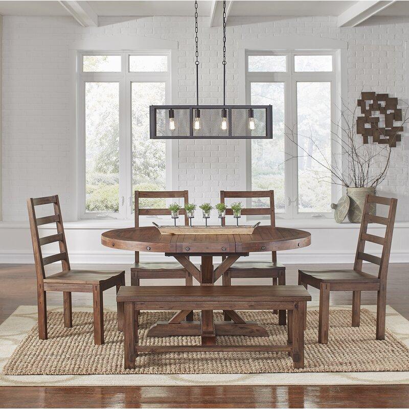 Mistana Trevion 6 Piece Dining Set Amp Reviews Wayfair