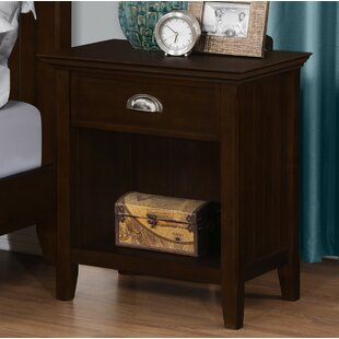 Best Mayna 1 Drawer Nightstand by Alcott Hill