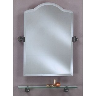 Affordable Lux Frameless Top Bathroom Mirror By Mistana