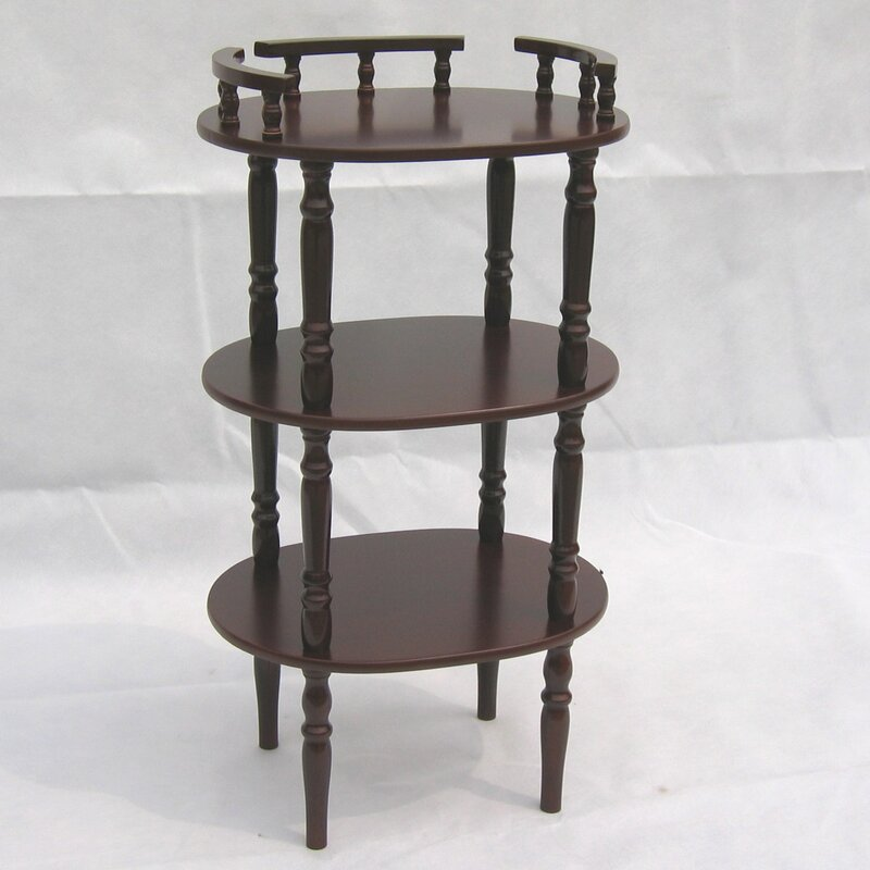 Telephone Table hazelwood home multi-tiered telephone table & reviews | wayfair