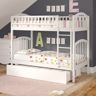 Compare prices Jackie Twin over Twin Bunk Bed by Viv + Rae Reviews (2019) & Buyer's Guide