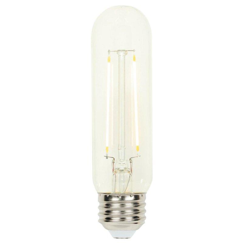 Westinghouse Lighting 60 Watt Equivalent T10 Led Dimmable Light Bulb Warm White 2700k E26 Base Reviews Wayfair
